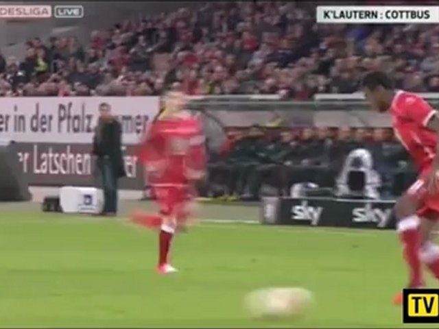 Video: 1. FC Kaiserslautern – Energie Cottbus (1-0), 2. Liga