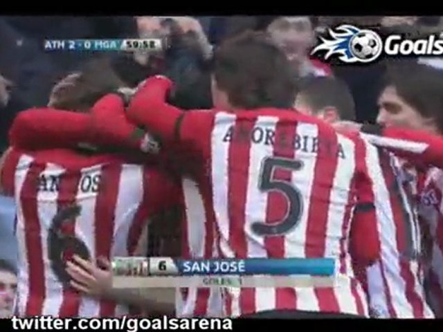 Video: Athletic Bilbao – FC Malaga (3-0), Primera Division