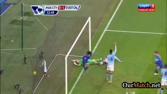 Video: Manchester City – FC Everton (1-1), Premier League