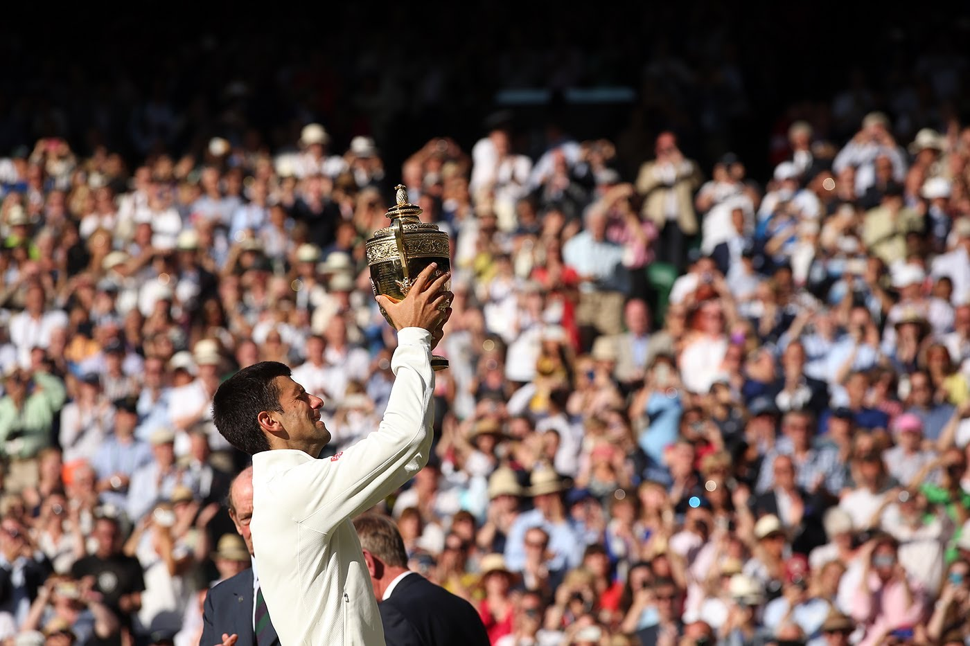Video: Novak Djokovic – Roger Federer (6:7, 6:4, 7:6, 5:7, 6:4 ), Wimbledon 2014