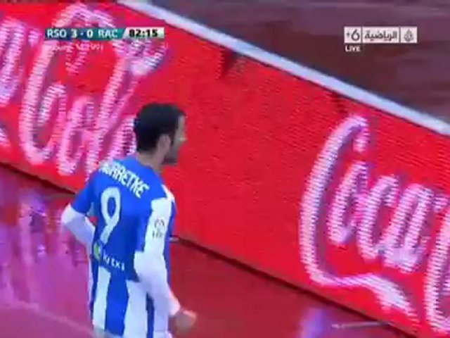 Video: Real Sociedad – Racing Santander (3-0), Primera Division
