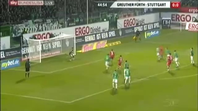 Video: SpVgg Greuther Fürth – VfB Stuttgart (0-1), Bundesliga