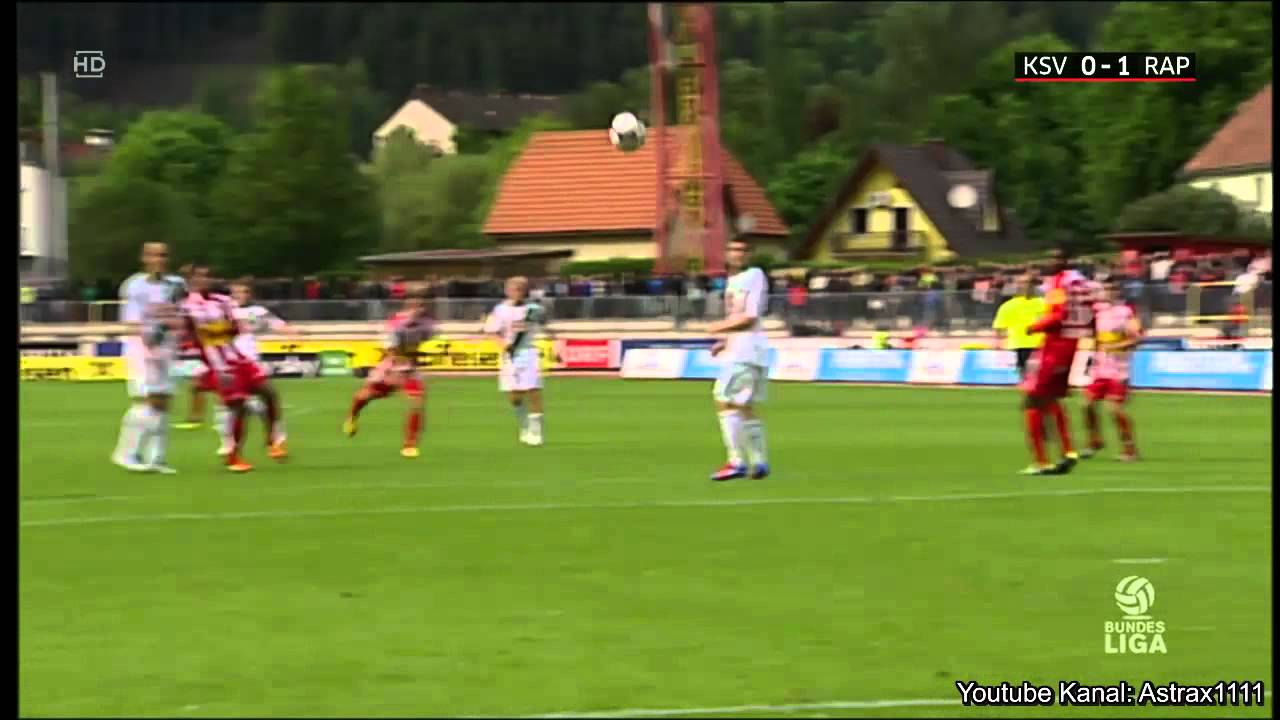 Video: SV Kapfenberg – Rapid Wien (0-2), Österr. Bundesliga