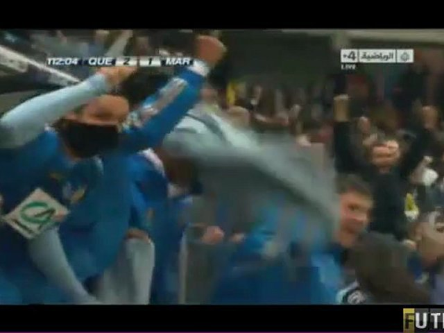 Video: US Quevilly – Olympique Marseille (3-2 n.V.), Coupe de France