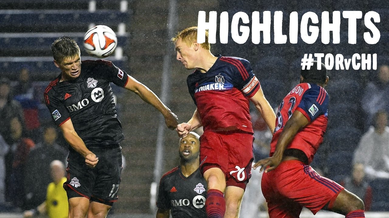 Video: FC Toronto – Chicago Fire (2-2), MLS
