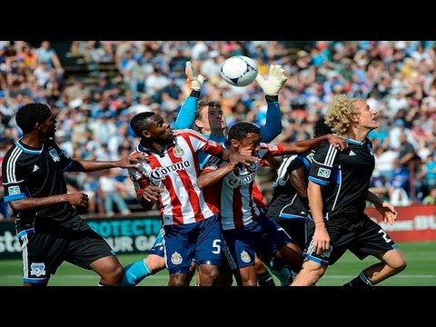 Video: SJ Earthquakes – Chivas USA (1-1), MLS