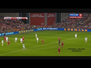 Video: Dänemark – Armenien (2-1), EURO 2016 Quali