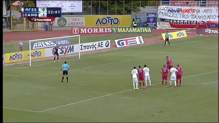 Video: Panionios – Skoda Xanthi (1-1), Super League
