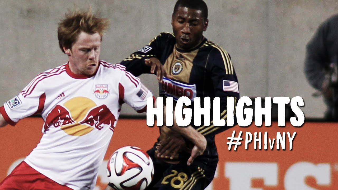 Video: Philadelphia Union – New York Red Bulls (2-2), MLS