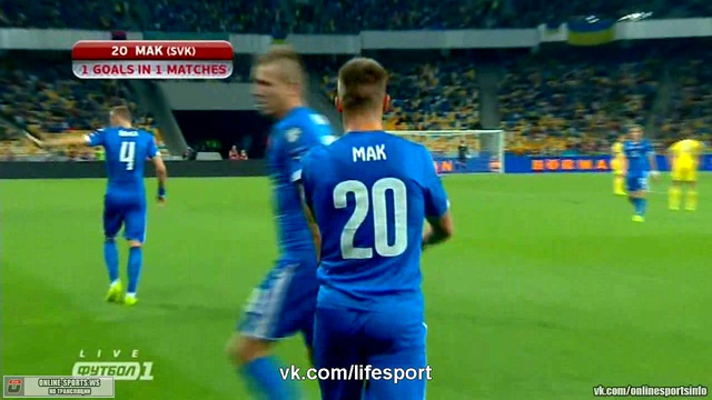 Video: Ukraine – Slowakei (0-1), EURO 2016 Quali