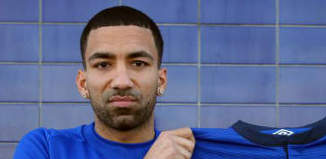 Aaron Lennon Excitement for Everton