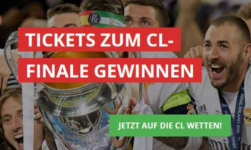 Intertops Champions League Tickets gewinnen