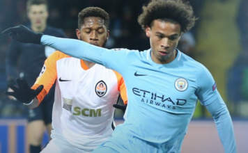 Video Schachtar Man City 06 12 17